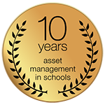 10 years asset management in schools